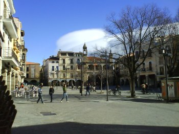 Plaza Mayor. Plasencia