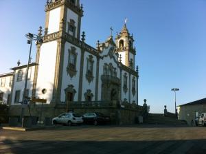 La Misericordia, en Viseu, está frente a la Catedral.