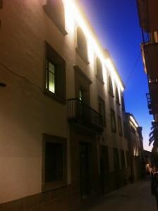 Calle Trujillo anoche